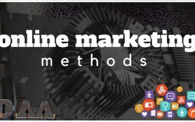 The Main Online Marketing Methods