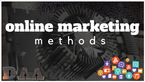 The Main Online Marketing Methods